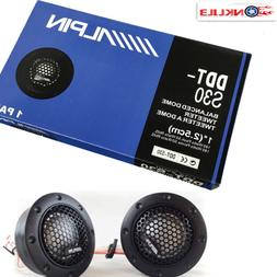 Alpine DDT-S30 180W Car Tweeter 1-Inch Speaker Silk Dome Aud