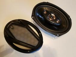 dls694 6 x9 4 way car speakers