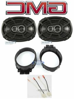 """Kicker 6x9"""" Front Speaker Replacement Kit For 2015-2017 GMC"""