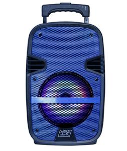 "Fully Amplified Bluetooth 1600 Watts Peak Power 8"" Speaker"