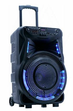 """Fully Amplified Portable 3500 Watts  15"""" Speaker WITH  FRE"""