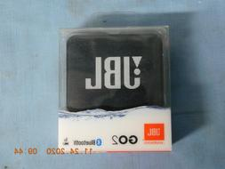 JBL GO 2 BLACK  Bluetooth Waterproof Portable Speaker - Blac