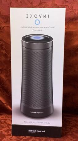 invoke voice activated speaker with cortana graphite