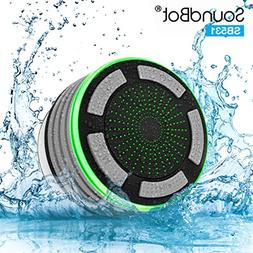 SoundBot IPX7 Waterproof 5W Bluetooth Wireless Shower Speake
