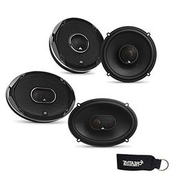 JBL - Stadium GTO620 6.5-Inch Coax Speakers, and a Pair of S