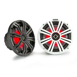 Kicker KM8 8-Inch  Marine Coaxial Speakers with 1-Inch  Twee