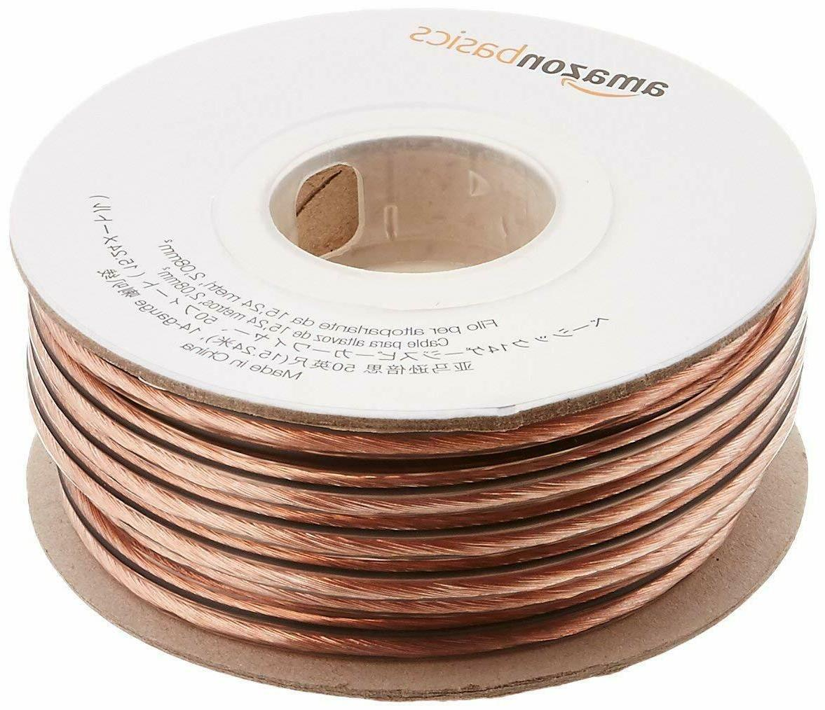 14 gauge speaker wire 50 feet