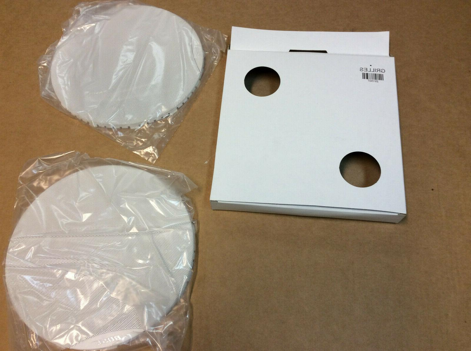BOSE 191 Virtually Invisible Speakers,Round In-Wall/Ceiling,White