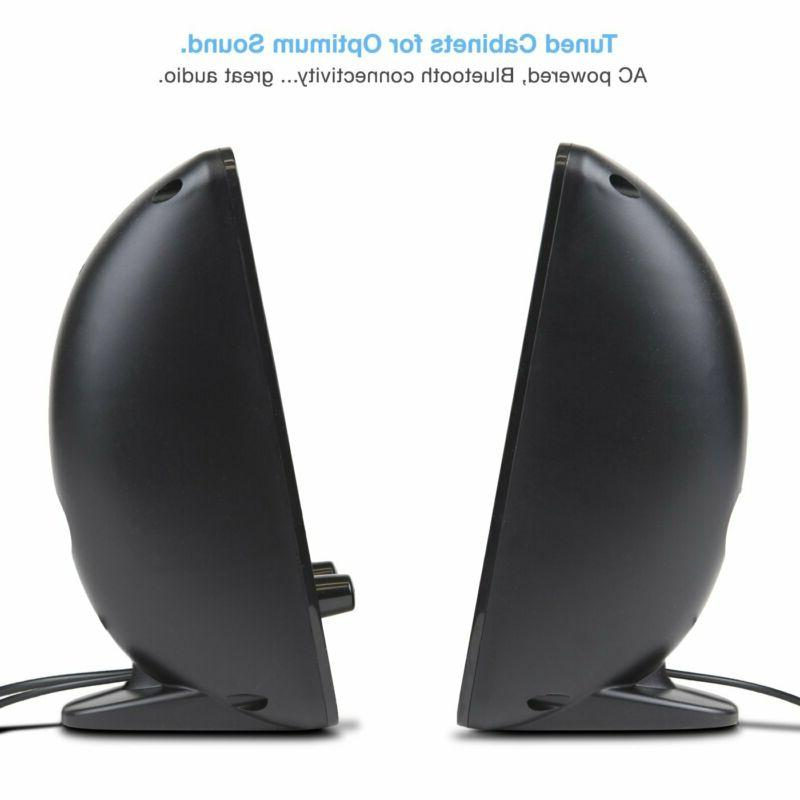 Cyber Acoustics Bluetooth System Home Audio For Pc
