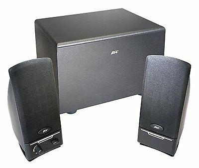 Cyber Acoustics 2.1 Powered Speaker System with Subwoofer +N