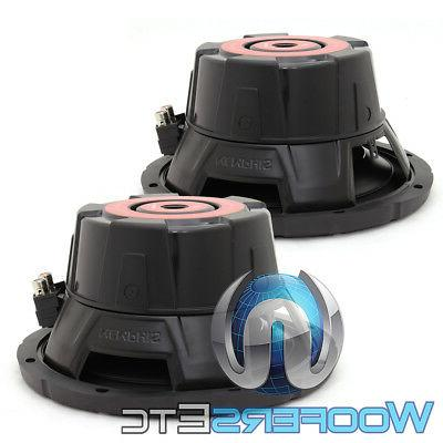 "SRX1040 10"" SUBS 400W SINGLE CAR SUBWOOFERS BASS NEW"