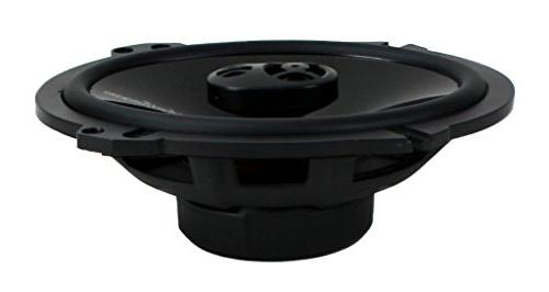 "4) Rockford P1683 6x8"" 3 Car Coaxial Speakers"
