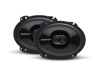 4 p1683 car coaxial speakers
