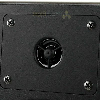 """4 Pack 6.5"""" Wall Speakers Home Theater 50W Audio Musica602W"""