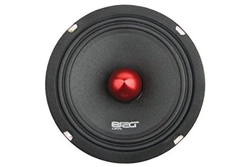 """DS18 6.5"""", Midrange, Bullet, 500W Max, 250W Premium Quality Speakers for Car or Truck"""