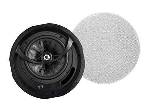 Alpha 8-Inch Carbon 2-way In-Ceiling