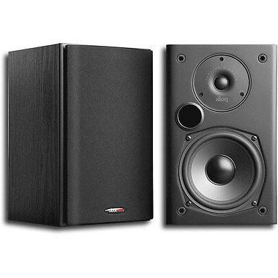 Polk Audio 2-Way Indoor Bookshelf Speaker in Black - Pair |