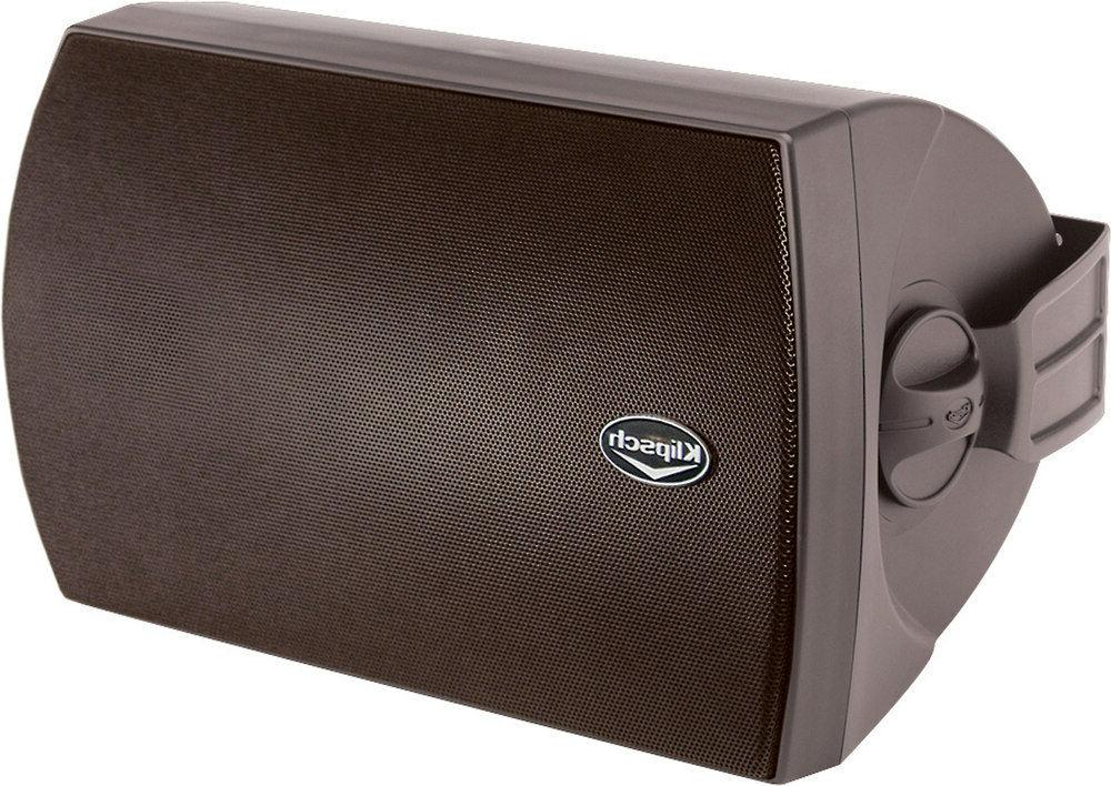 Klipsch AW-650 All Weather Outdoor Speakers Black Pair B Sto