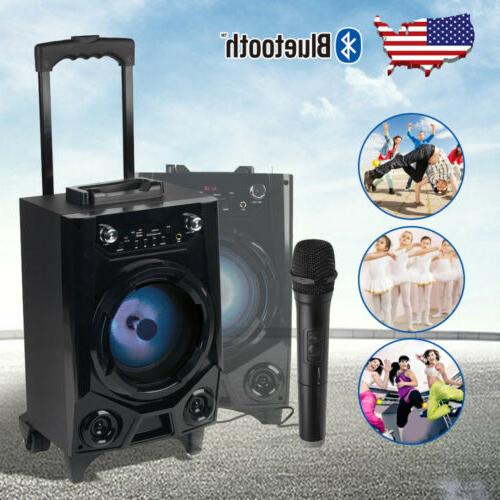 🔥BT Party Bluetooth Stereo Tailgate w/ Mic