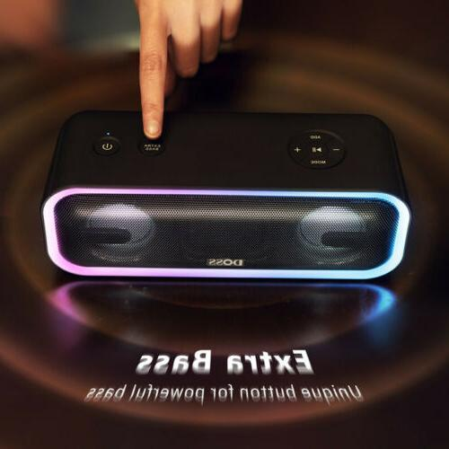DOSS BT20 Party Sound Box Speaker Waterproof DSP Powerful Ba