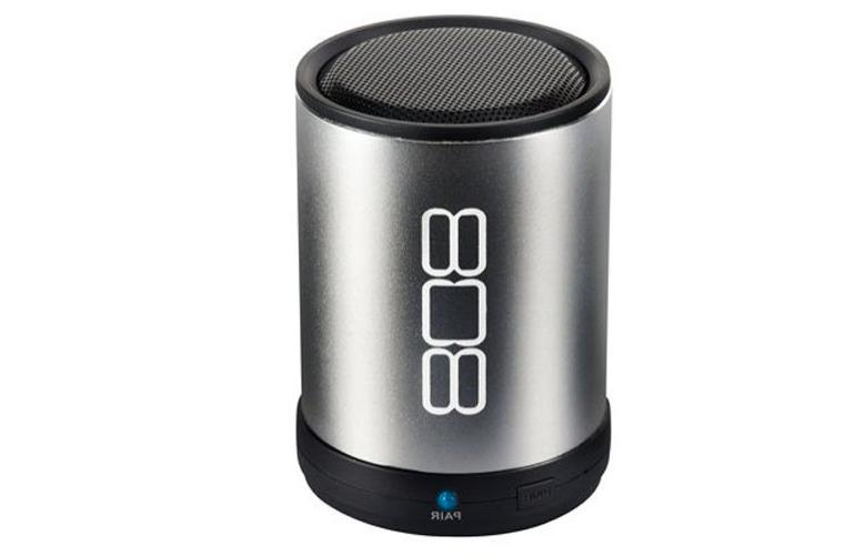 808 CANZ Bluetooth Wireless Speaker - Silver Bulk Packaging
