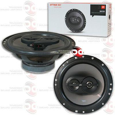 "JBL CS763 6.5"" 6.5-INCH  3-WAY COAXIAL COAX CAR AUDIO SPEAKE"