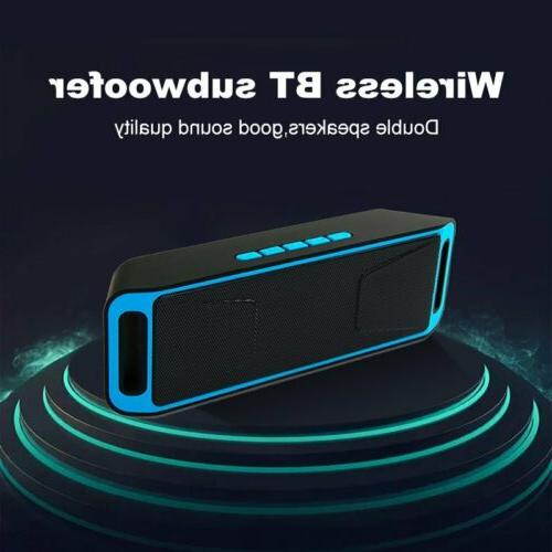 Dual Bluetooth Waterproof USB/TF/FM