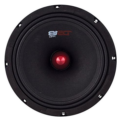 "DS18 8"", Midrange, RMS, Ohms Premium Quality Speakers Car or Truck Sound"