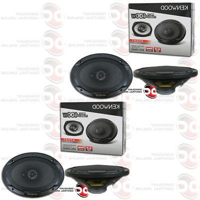 "6"" CAR AUDIO SPEAKERS 6x9"""