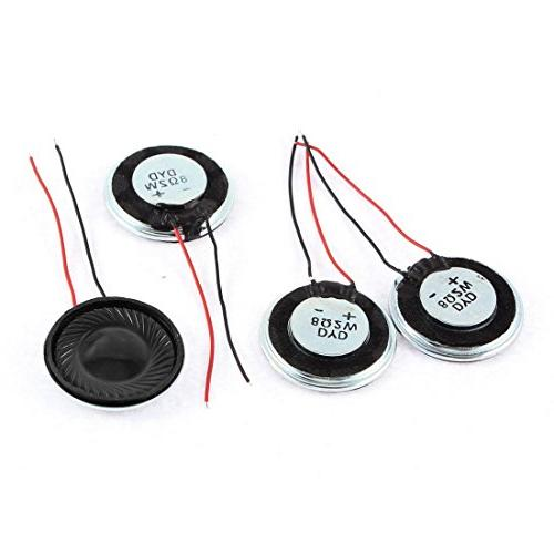 SoundOriginal Micro Speaker Metal Shell Round Speakers 2Pcs Ohm 17102501