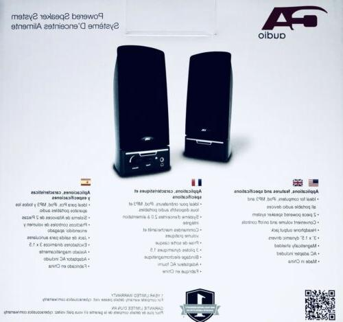 New! Amplified - Model CA-2012