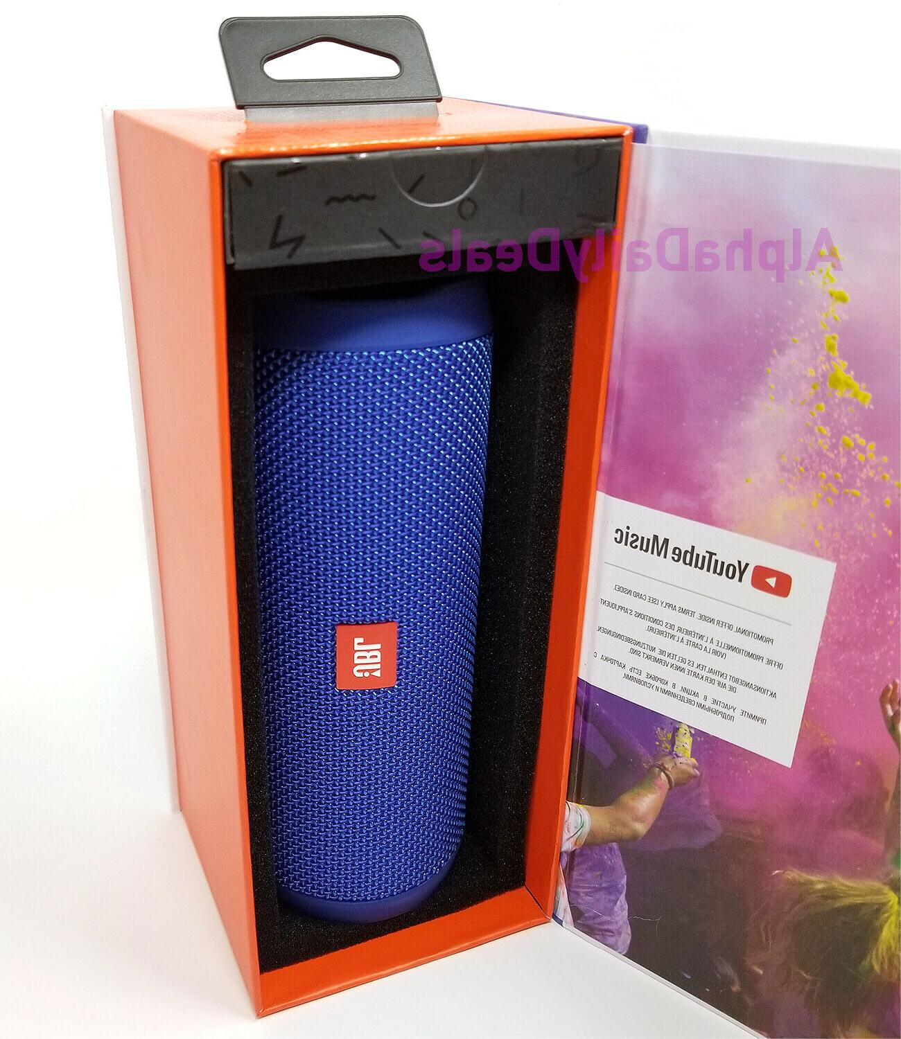 New Waterproof Portable Stereo Blue