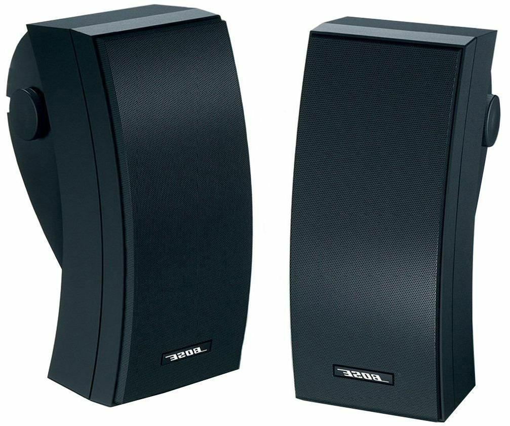 NEW Environmental Speakers - Black