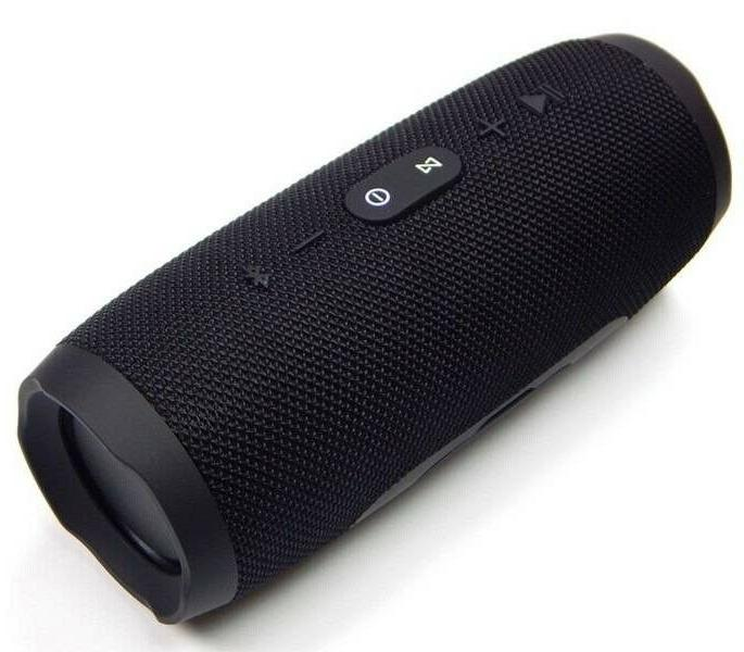 New Portable Waterproof Black Bluetooth Speaker Bass