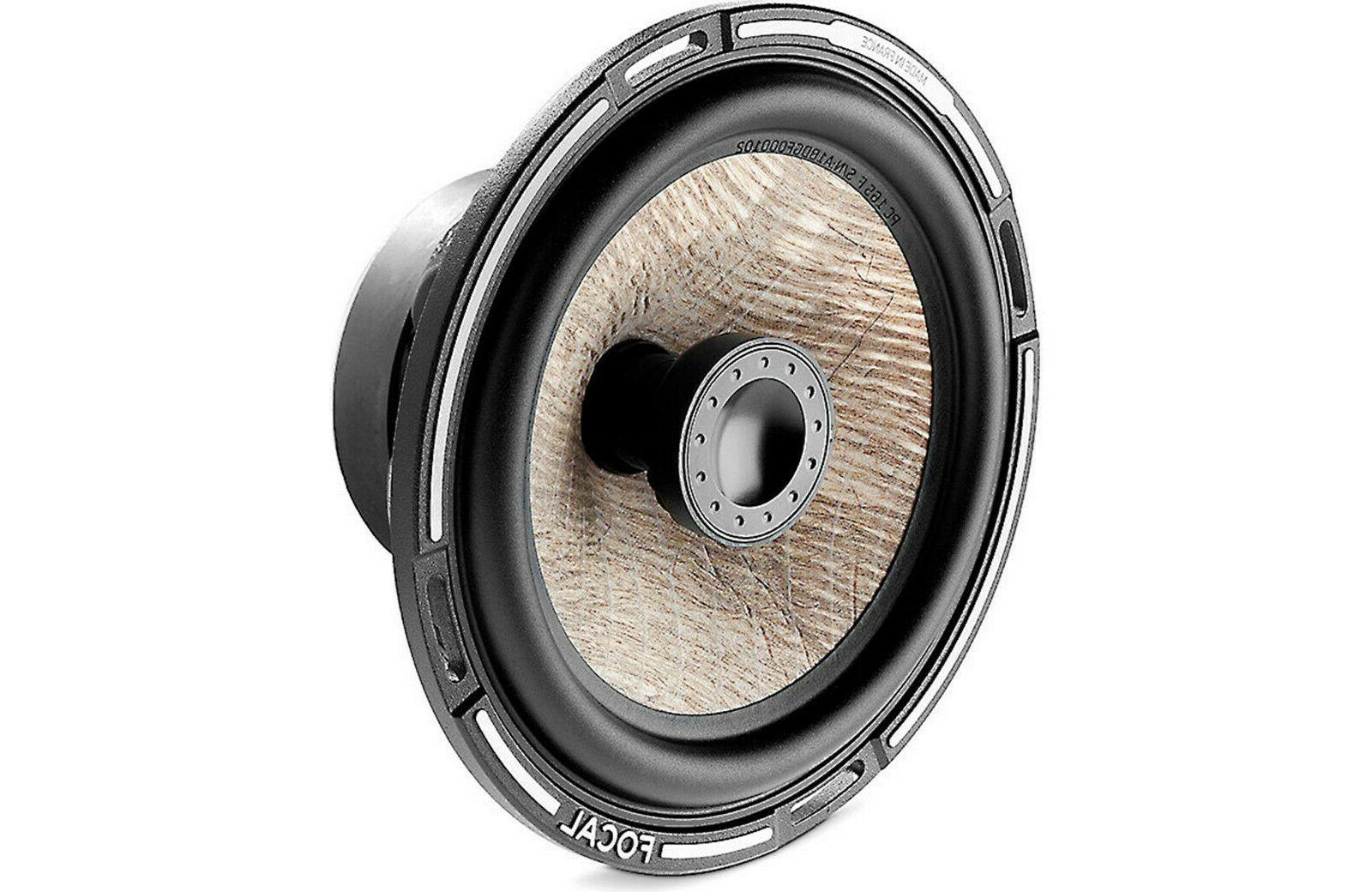 """FOCAL PC 165F Expert Flax Cone 6.5"""" 2-Way Coaxial Speaker"""