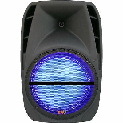 QFX Battery-Powered Party Speaker Mic