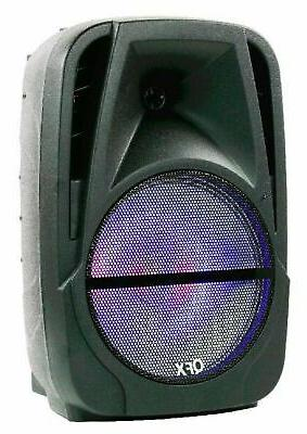 QFX Portable Battery-Powered Party Speaker with & Radio