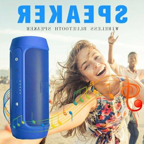 Portable Bluetooth Wireless Outdoor Super Bass FM Radio/TF/USB/AUX US
