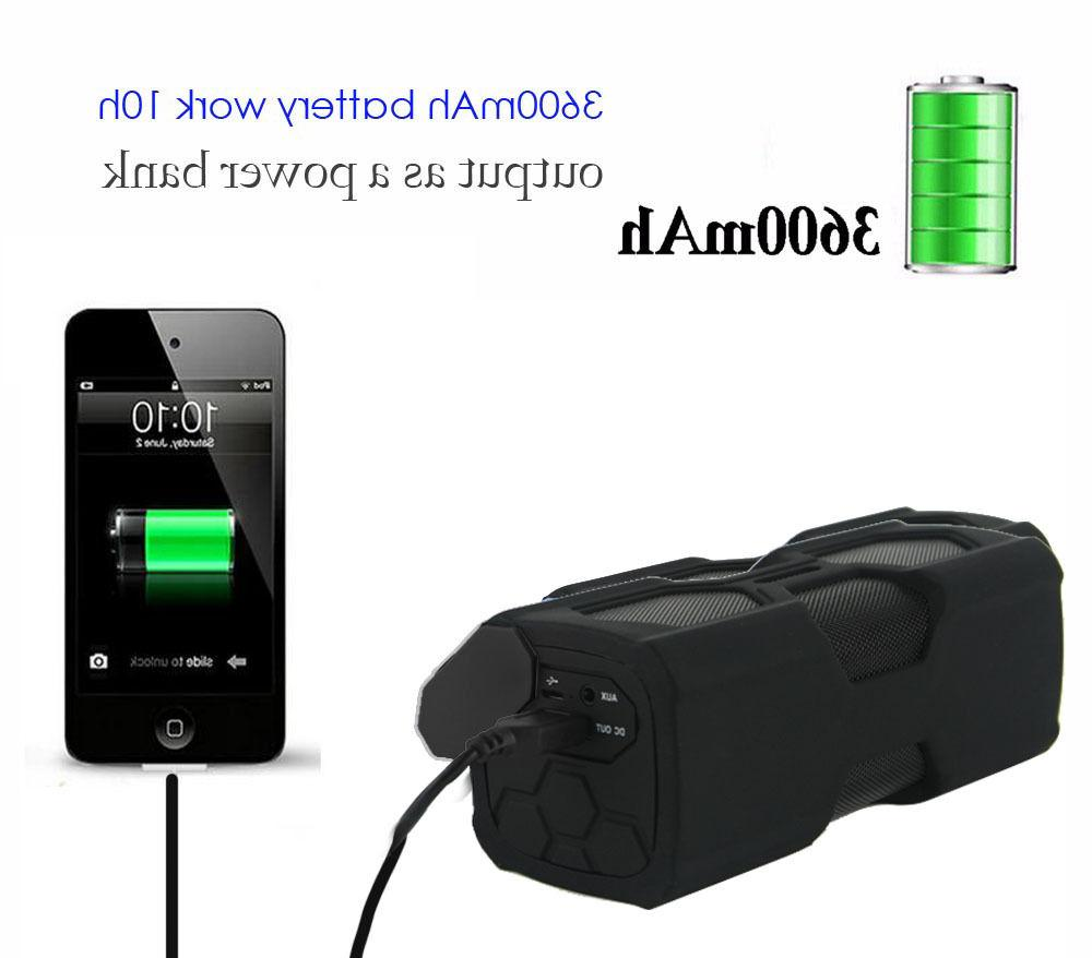 Portable Wireless Waterproof Bass