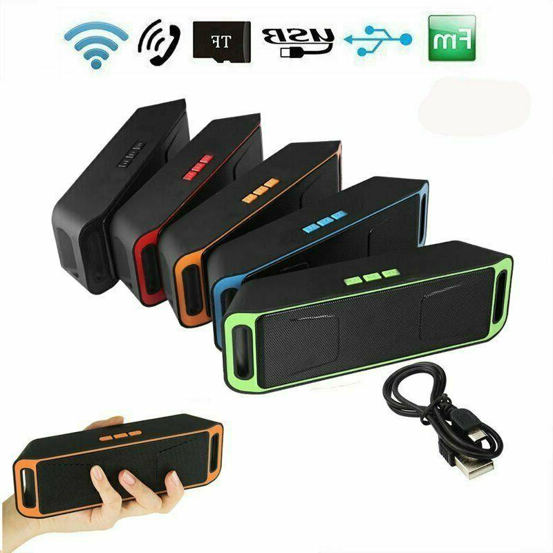 Rechargeable Bluetooth Portable Radio Stereo