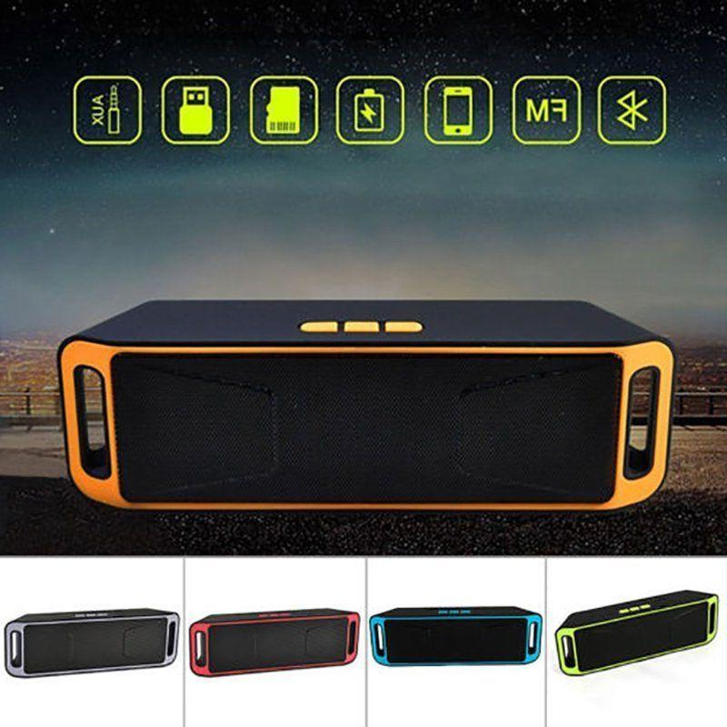 Recharegable Wireless Bluetooth Speaker Portable Outdoor USB
