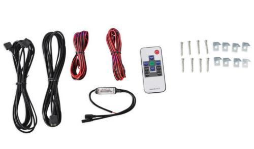 Rockville RMC65LW 2-Way White w/Multi Color LED+Remote