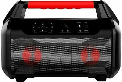 roam 2 portable waterproof bluetooth speaker black
