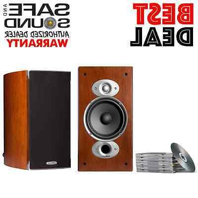 POLK AUDIO RTIA3 BOOKSHELF SPEAKERS | CHERRY RTI-A3 PAIR