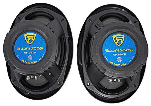 Rockville RV69.4A 4-Way Speakers Watts/440w RMS Rated