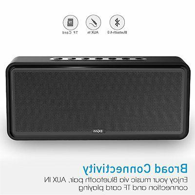 DOSS SoundBox Bluetooth Speakers, Dual-Driver Wireless Bluetooth