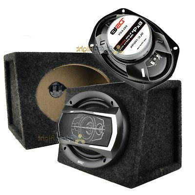 DS18 6x9 5-way Speakers 520 Watts Max With Speaker Box Enclo