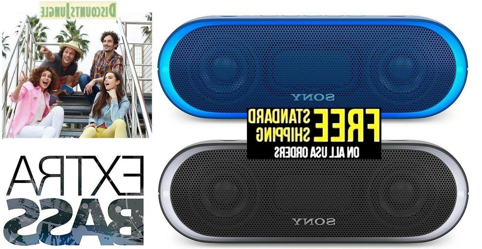 srs xb20 portable water resistant bluetooth speaker