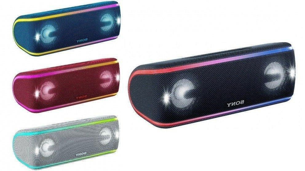 Sony SRS-XB41 Portable Extra Bass Bluetooth Speaker With NFC// Lights XB41