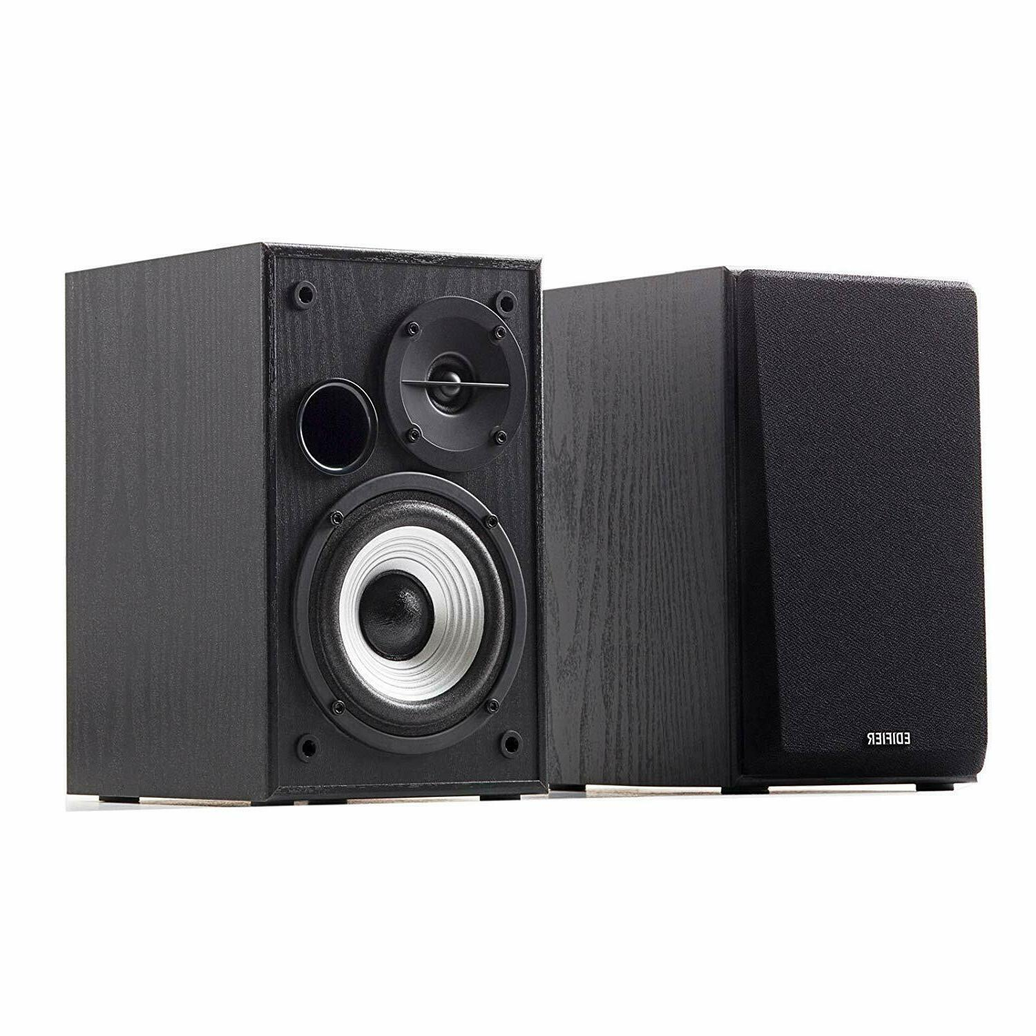 Studio Monitor Stereo Bass System Home Audio Shelf Sound Spe